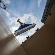 rollen papier laden in schip