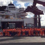 P&O Ferries Europoort Rotterdam