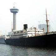 schip aan de parkhaven rotterdam, hvs jan backx,