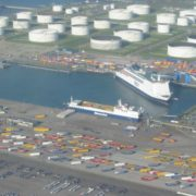 overzicht p&o ferries terminal europoort rotterdam