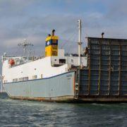 roro schip van cobelfret ferries