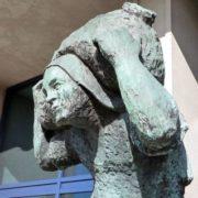 beeld van de lastdrager, c.steinweg
