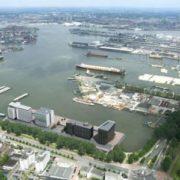 luchtfoto waalhaven rotterdam